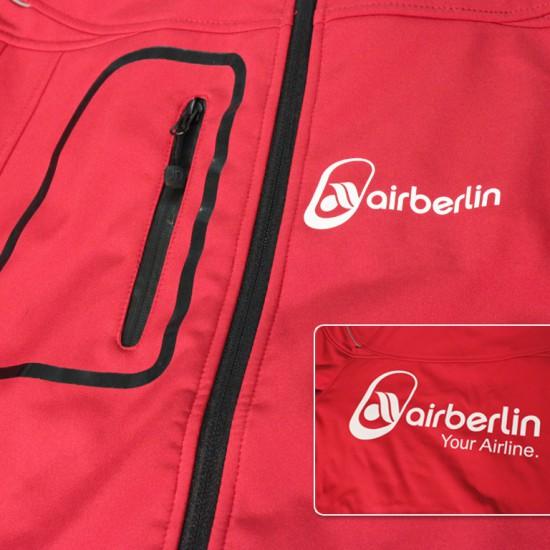 Air Berlin rote Jacke
