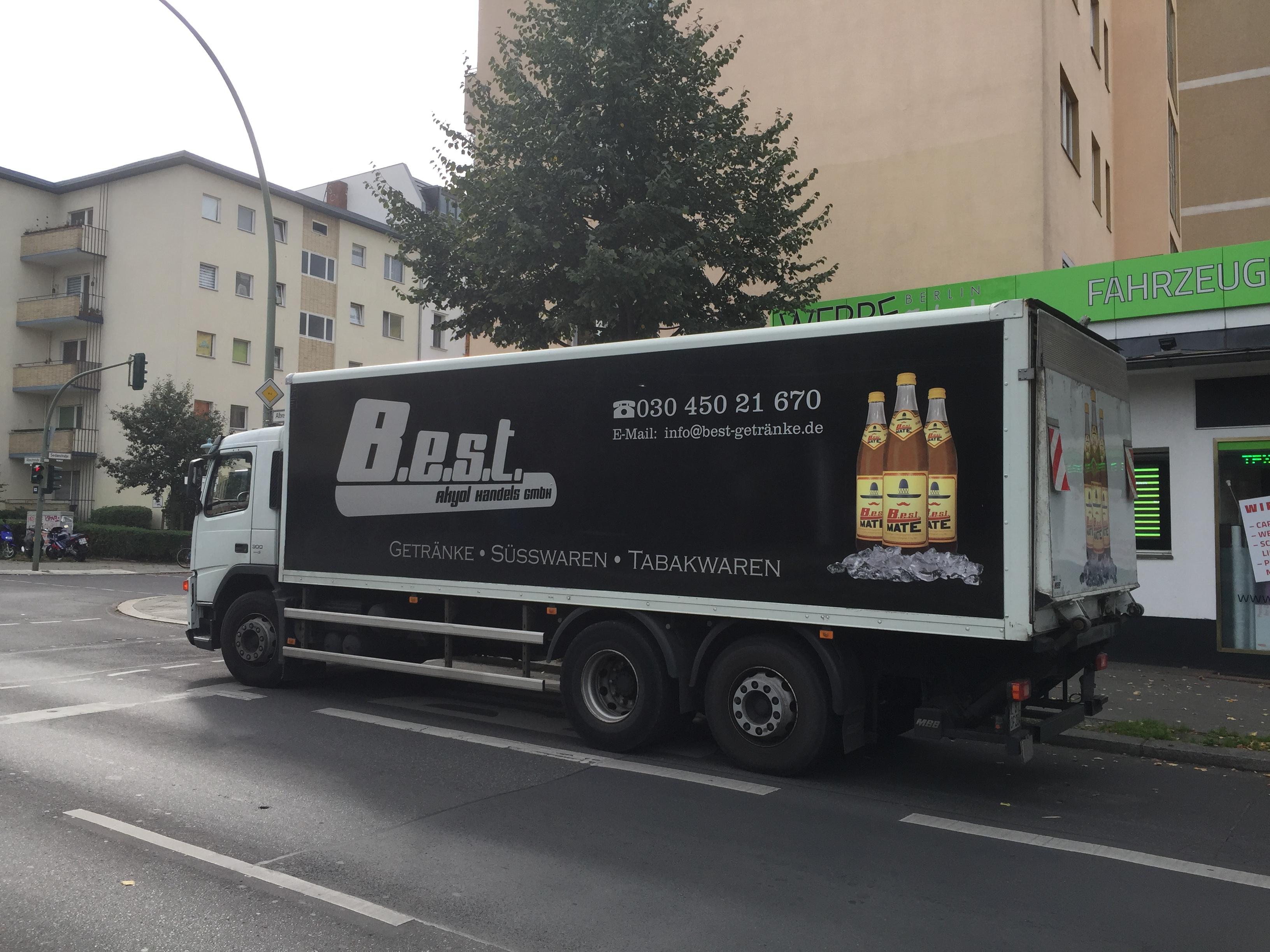 Fahrzeugbeschriftung B.E.S.T. Akyol